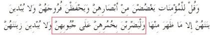 Ayat Jilbab