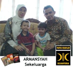 Armansyah sekeluarga