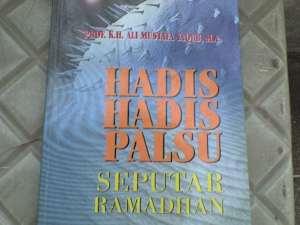 Cover Buku Hadis-hadis Palsu Seputar Ramadhan