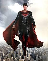 Ilustrasi sosok Superman tanpa celana dalam diluar