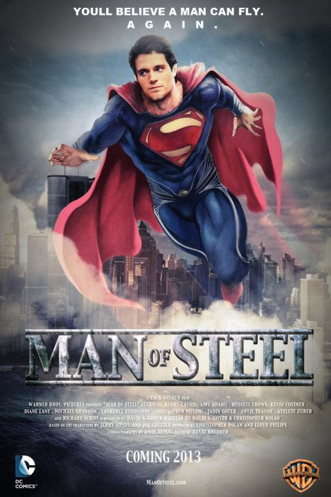 Ilustrasi film Superman: Man Of Steel